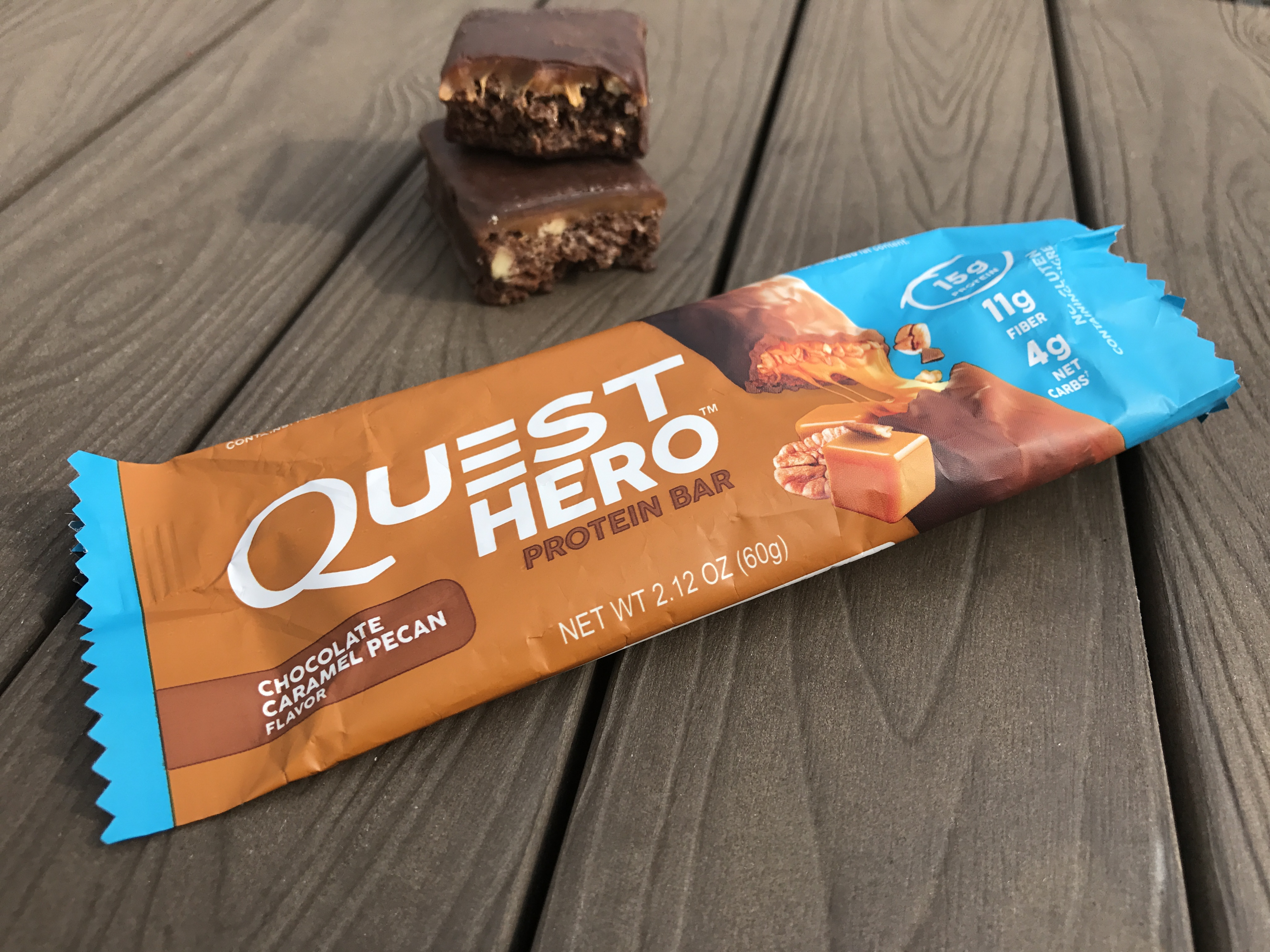 How are quest bars made