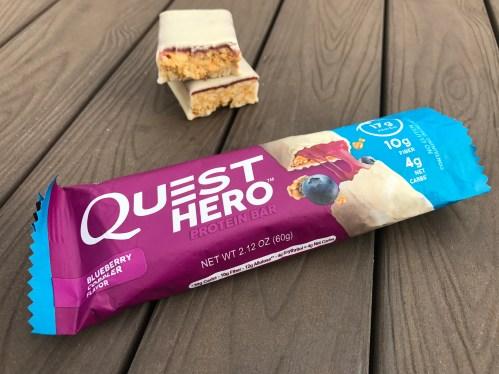 Blueberry Cobbler Quest Hero Bar