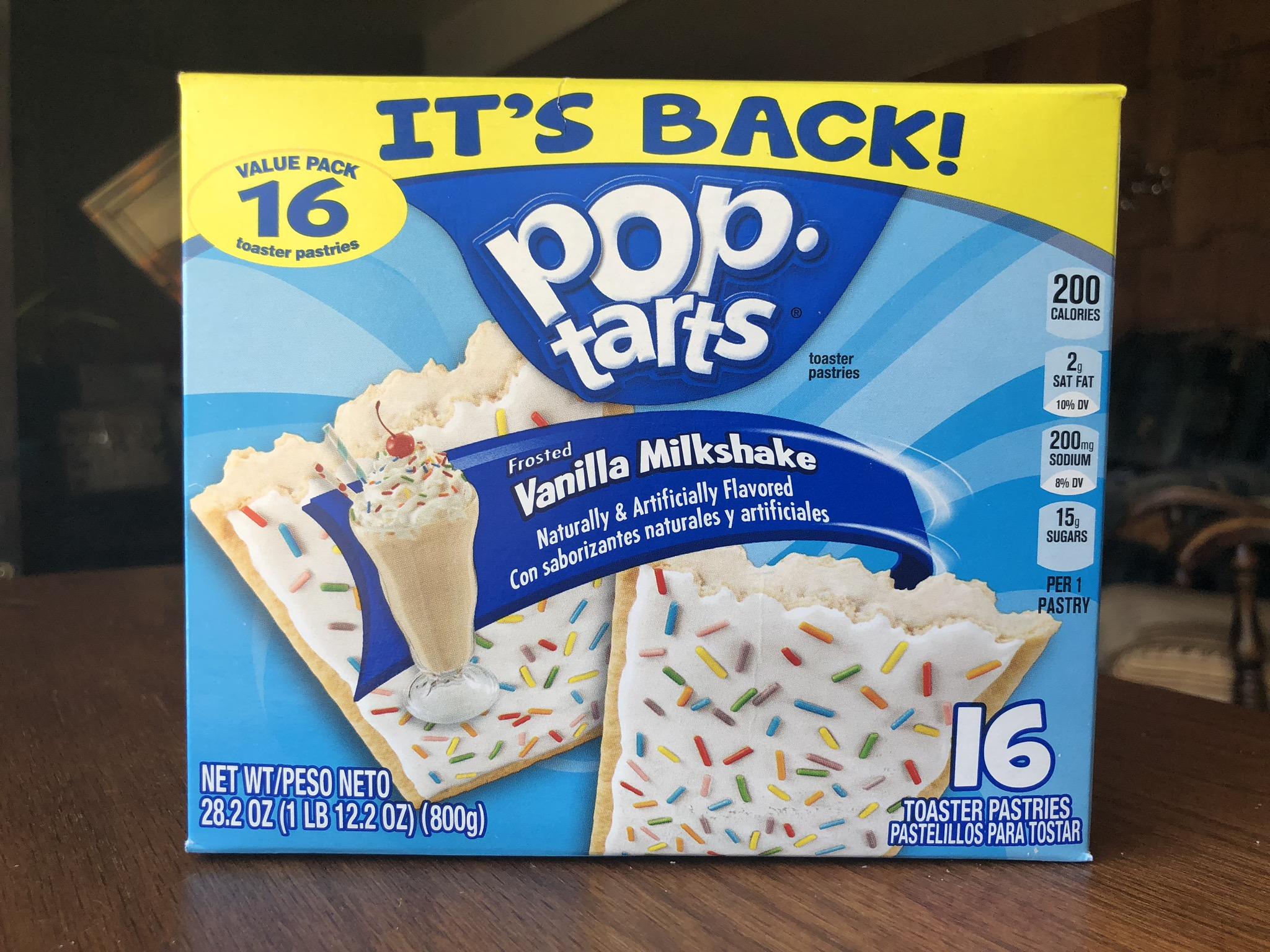 Kelloggs Vanilla Milkshake MMs