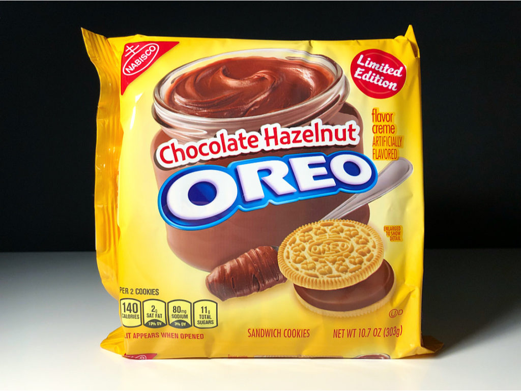 REVIEW: Nabisco Chocolate Hazelnut Oreos