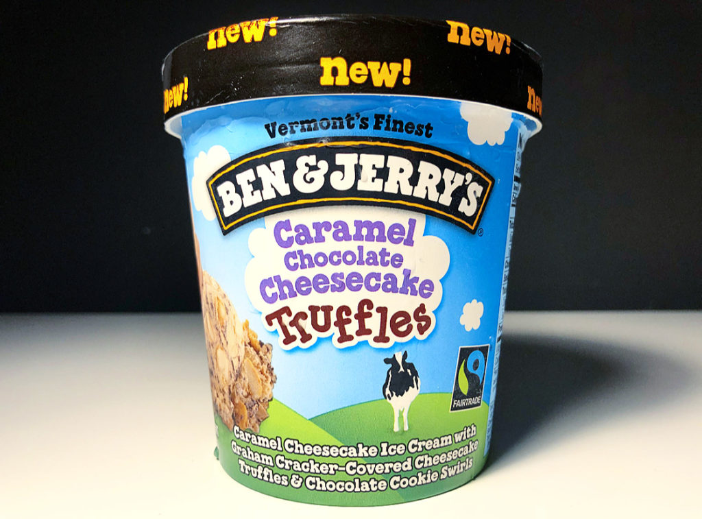 REVIEW: Ben & Jerry's Caramel Chocolate Cheesecake Truffles