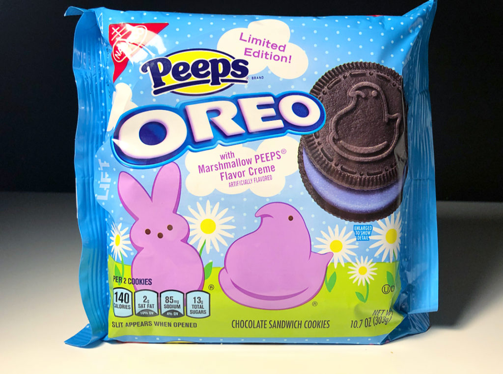 REVIEW: Nabisco Peeps Oreos (Chocolate)