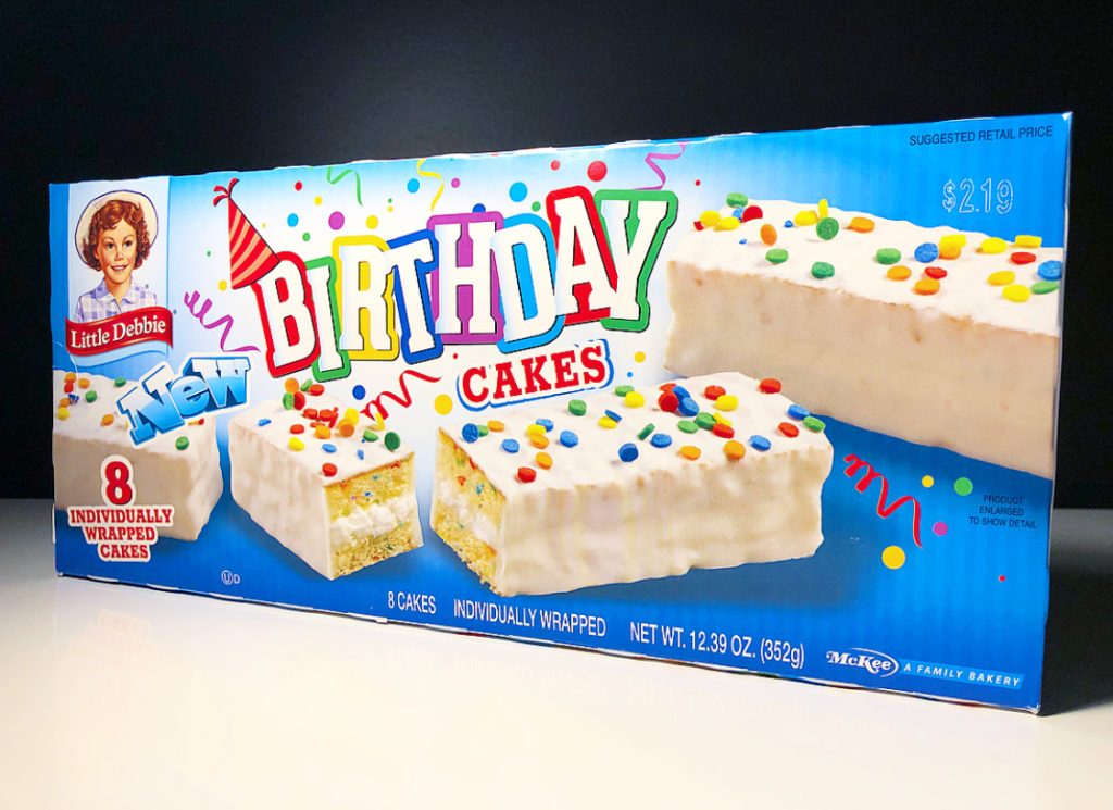 Strange Review Little Debbie Birthday Cakes Junk Banter Funny Birthday Cards Online Eattedamsfinfo
