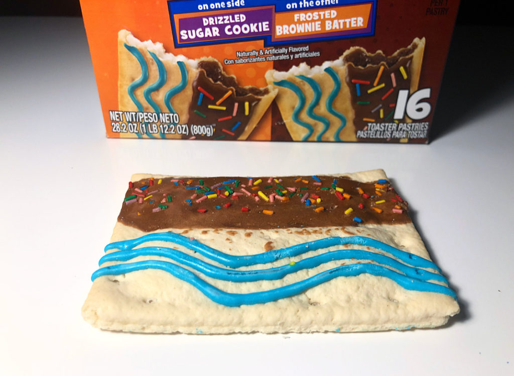 sugar cookie pop tarts