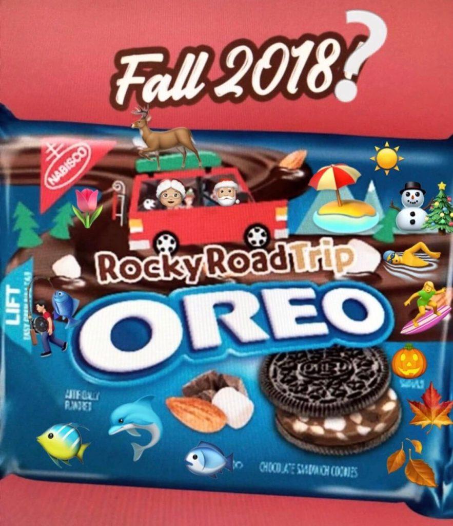 Review Nabisco Rocky Road Trip Oreos Junk Banter