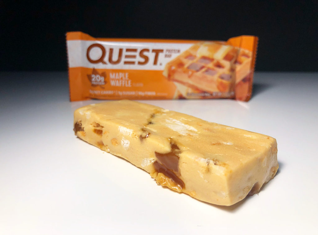 REVIEW: Maple Waffle Quest Bar - Junk Banter