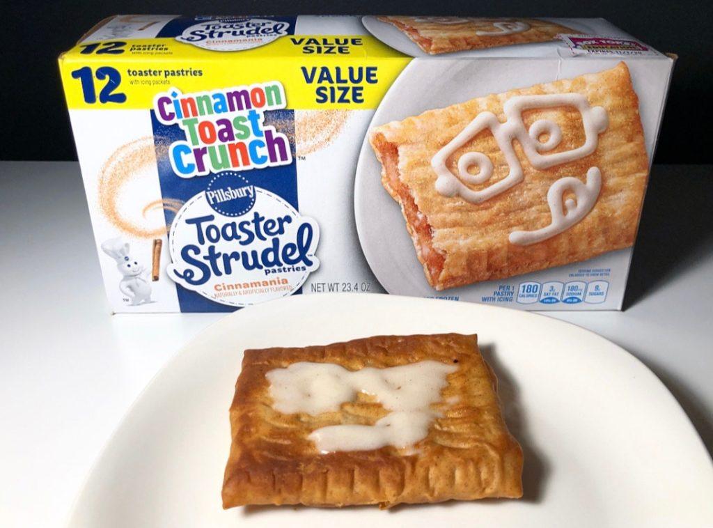 Pillsbury Cinnamon Toast Crunch Cinnamania Toaster Strudel