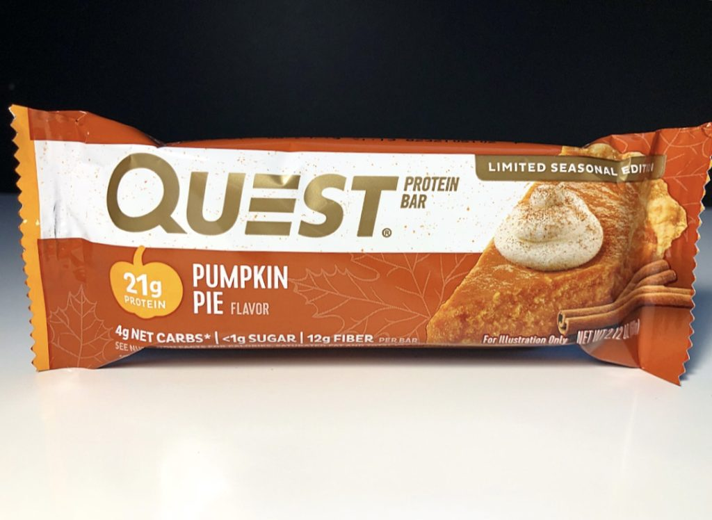 REVIEW: Pumpkin Pie Quest Bar (2018 Edition)