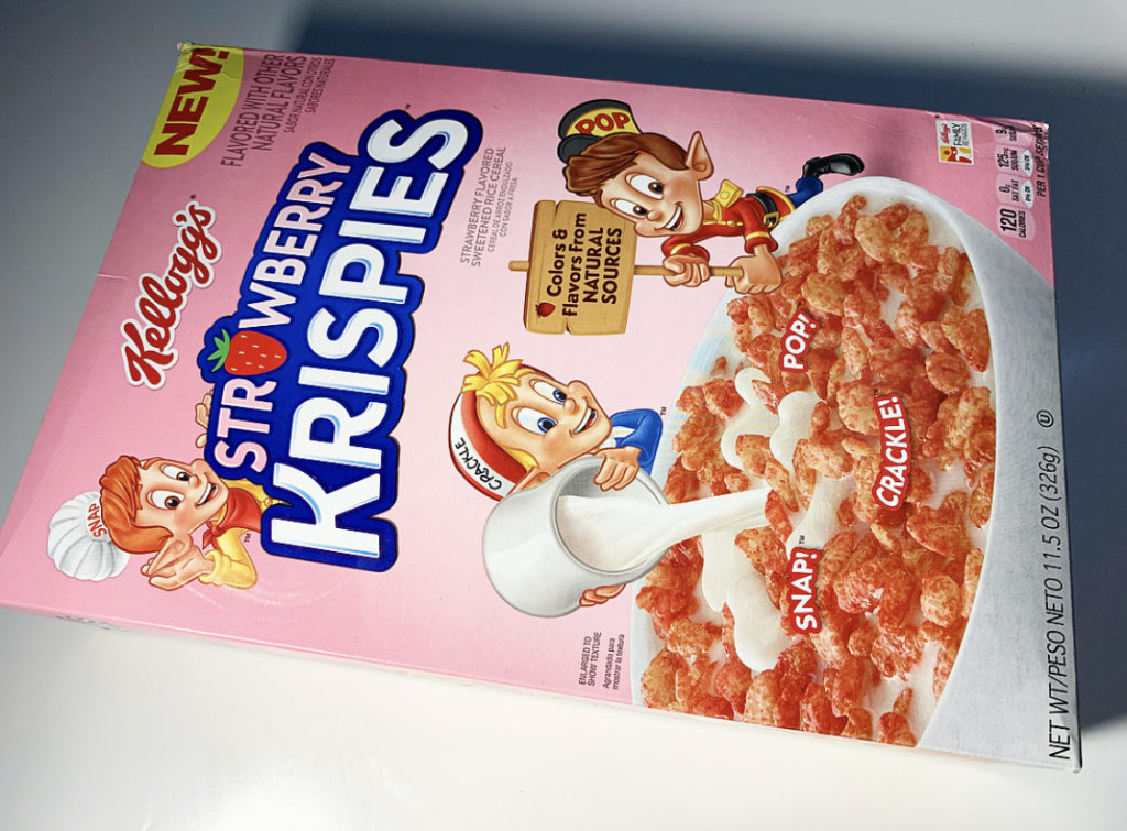 REVIEW: Kellogg's Strawberry Rice Krispies - Junk Banter