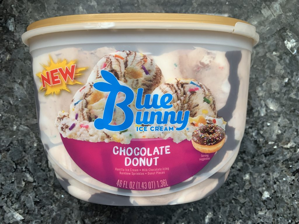 Astounding Review Blue Bunny Chocolate Donut Ice Cream Junk Banter Funny Birthday Cards Online Aeocydamsfinfo