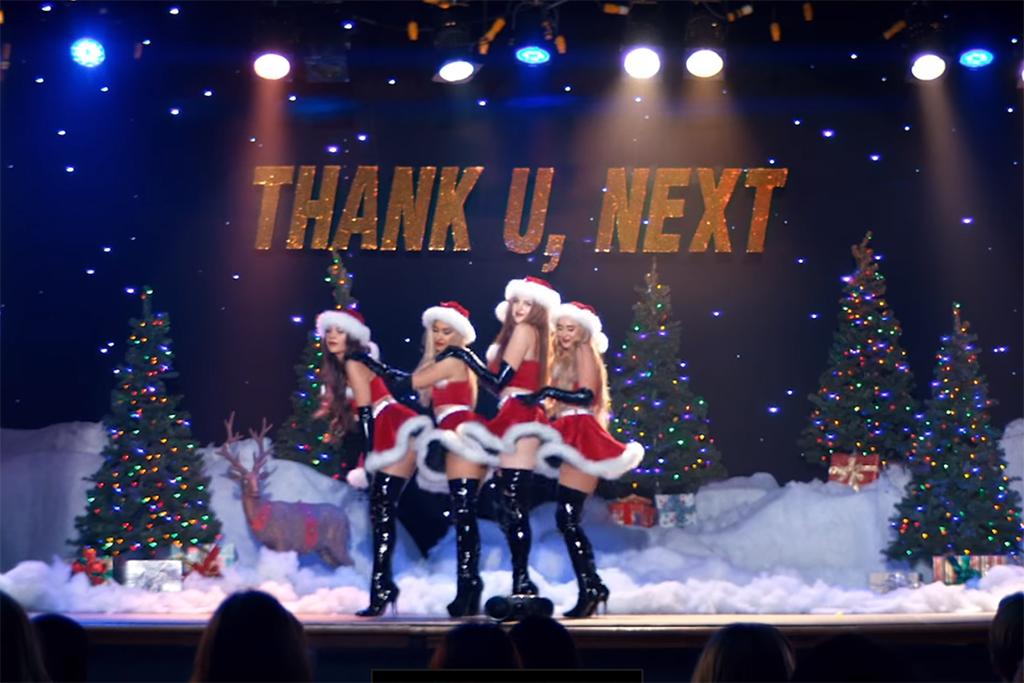 "vídeoclip ""Thank u Next"""