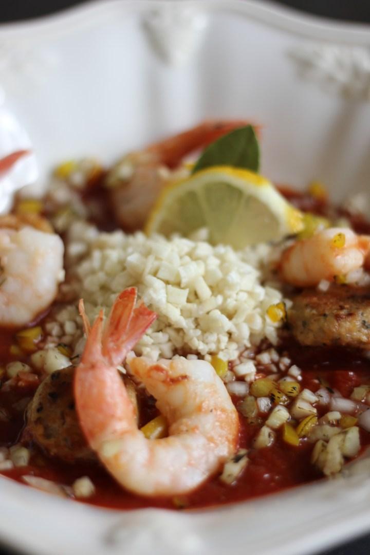 Low Carb Shrimp Jambalaya