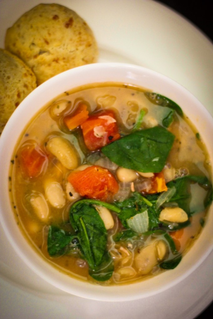 White Bean Summer Soup