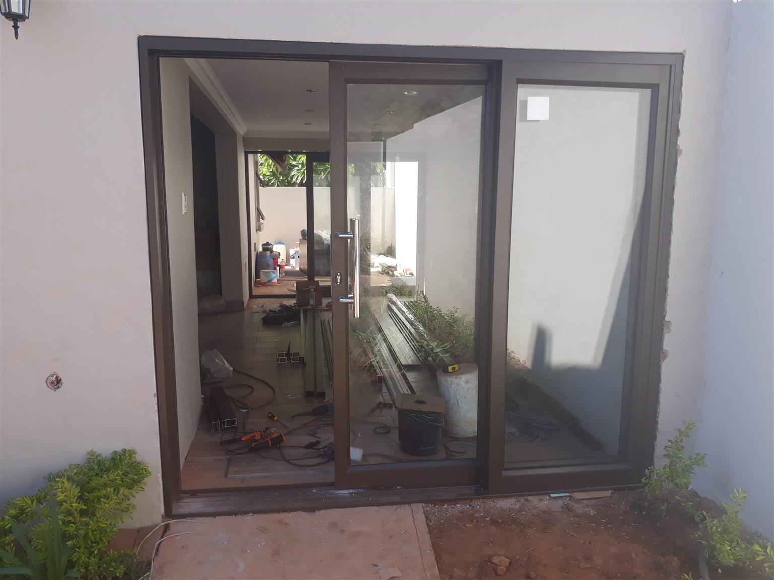 aluminium high perfomance heavy duty sliding doors up for a big sale