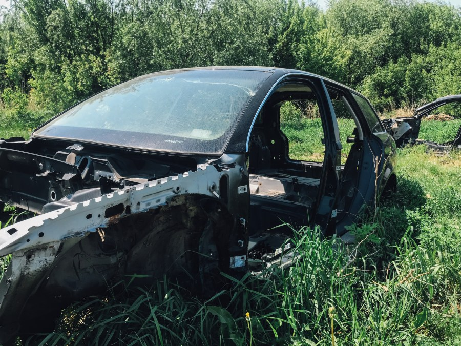 Salvage Car
