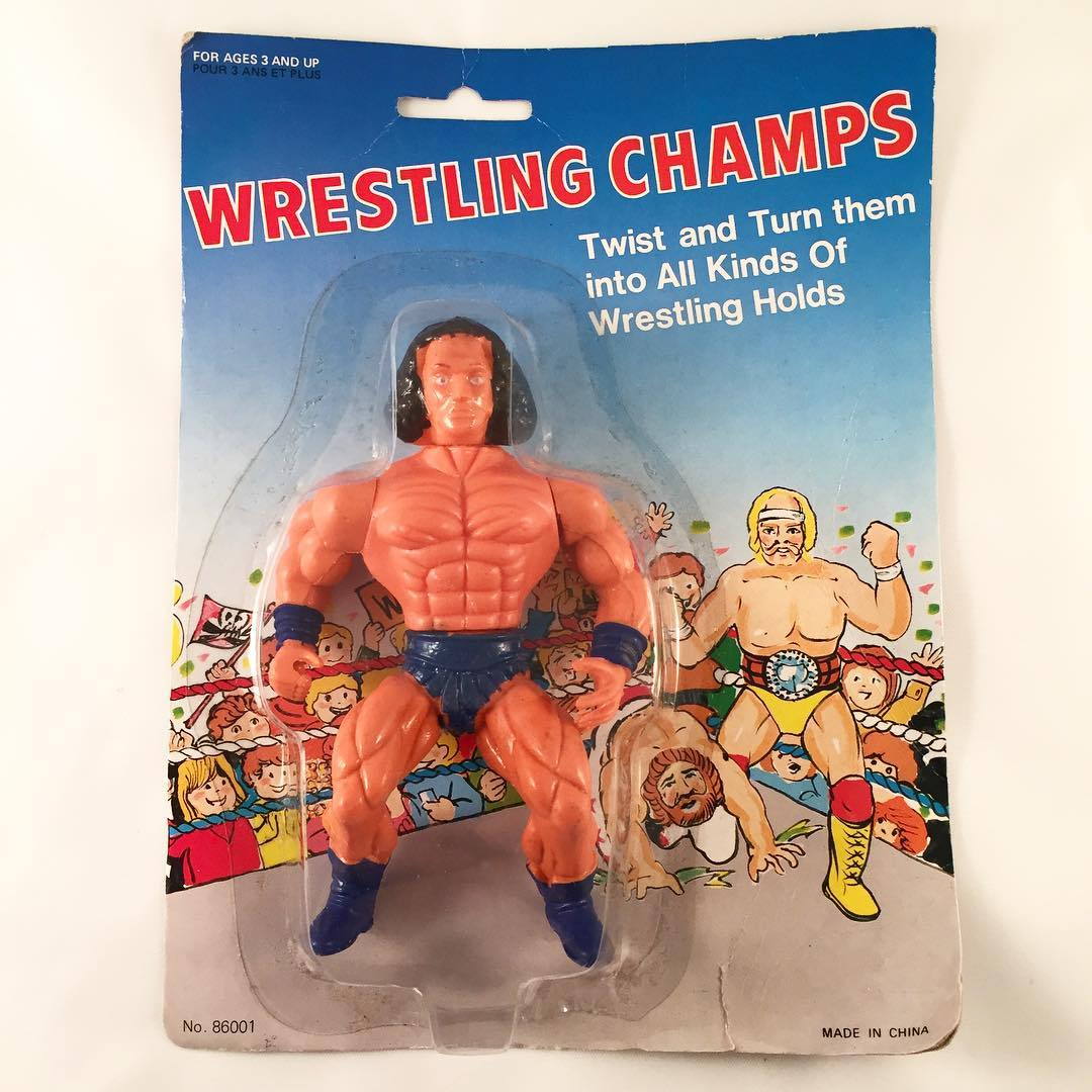 Wrestling Champs MOTU Knock Off Andre the Giant toy