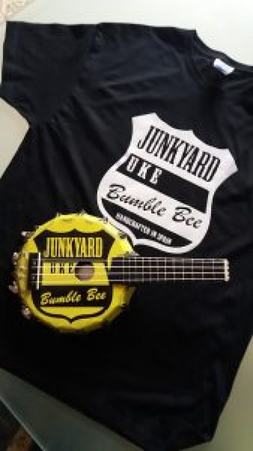 Bumble Bee Uke and T-Shirt
