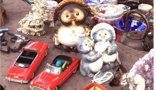 そうだ、大須へ行こう♪毎月28日は大須観音の骨董市と縁日