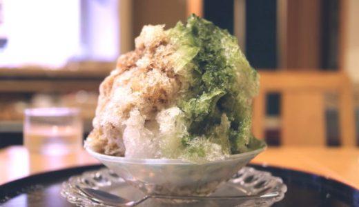 中区・錦「大黒屋本店」創業150年老舗和菓子処のふわふわかき氷は黒糖蜜が最高!