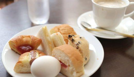 【閉店】大須『シャポーブラン』490円でパン&ゆで卵食べ放題のモーニング!子連れにもおすすめ!