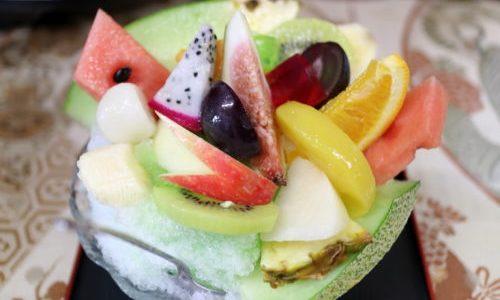 中村公園『うちやま』フルーツ盛りだくさんのかき氷が最高うまい!夏限定営業
