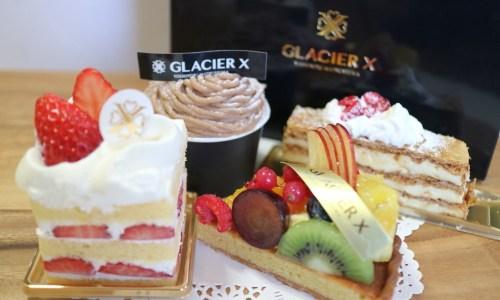 『グラシエ イクスGLACIER X』元ホテルパティシエの洋菓子店が久屋大通にオープン!カフェも併設