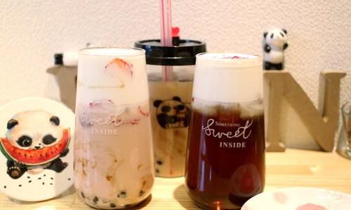 大須『Pancheパンチャ』パンダのカフェがキュートなタピオカ専門店!メニューの種類は?
