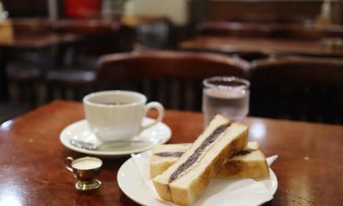 名古屋・栄地下『ラムチー』小倉あんトースト!地下鉄開業から地下街を見守る老舗喫茶店