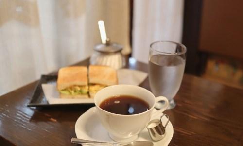 伏見地下街の老舗喫茶店『伏見珈琲館』サンドイッチモーニングがお得でおいしい!
