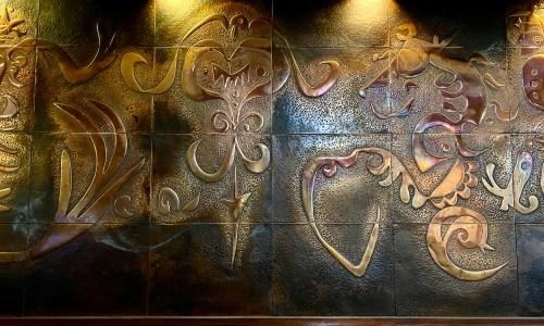 東向島『珊瑚』銅板アートが素晴らしいレトロ純喫茶!豪華な造りの店内とおいしいコーヒー