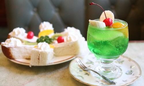 岩塚『サンモリー』キュートなメニューがいっぱい!レトロ純喫茶