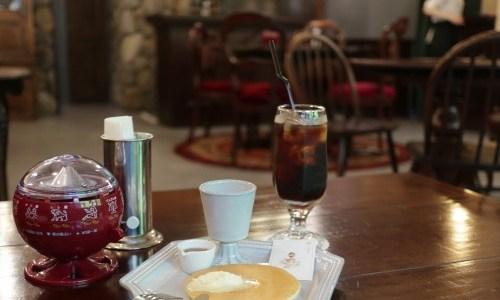 大須『喫茶ジェラシー』ネオレトロ喫茶でホットケーキモーニング、+3k.CAFE姉妹店