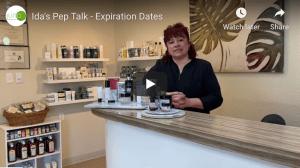Ida's Pep Talk - Expiration Dates
