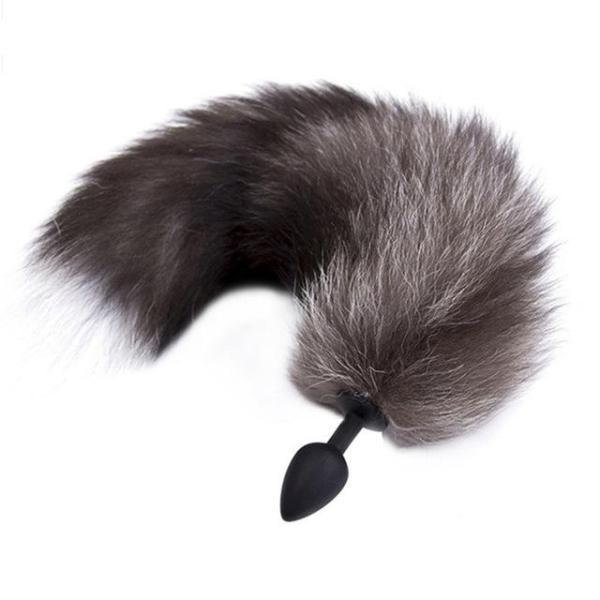 Silicone Fox Tail Plug