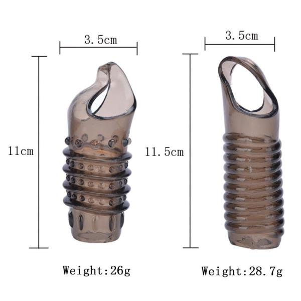 4MB Silicone Penis Ring & Sleeve