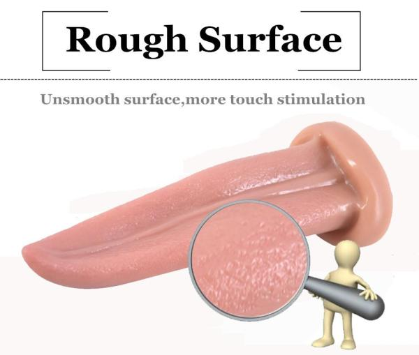 Tongue Shape Dildo