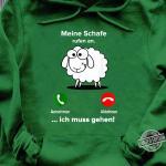 Schafe Lustiges Geschenk Schafer Landwirt Bauer Tiere Shirt