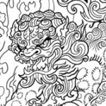 foo dog tattoo, tattoo template, tattoo designer service, create your tattoo, juno tattoo design