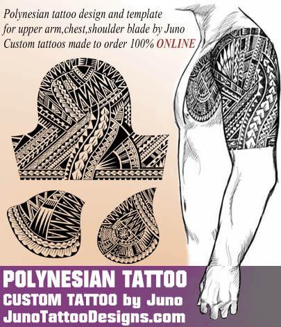 polynesian tattoo - juno tattoo designs