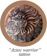 aztec warrior tattoo_customer_button