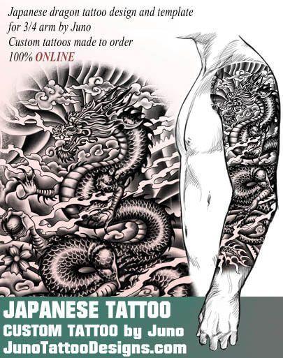 japanese dragon tattoo, juno tattoo designs