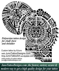 Polynesian tattoo shoulder by juno tattoo designs