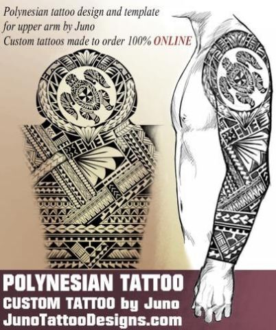 polynesian tattoo design, turtle tattoo, juno tattoo designs