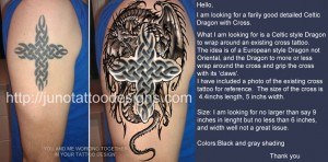 dragon_design_celtic_cross_tattoo_design_by_Juno