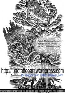 greek mythology tattoo by Juno