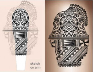 polyneisan-tattoo-sketch-on-arm