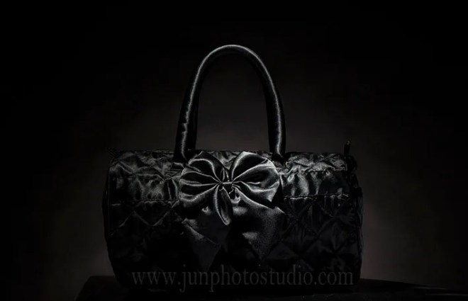 black bag product photographer China