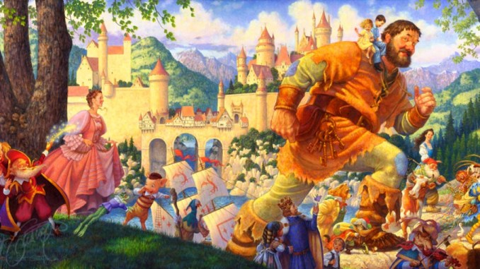 Classic Fairy Tales by Scott Gustafson – You BET!