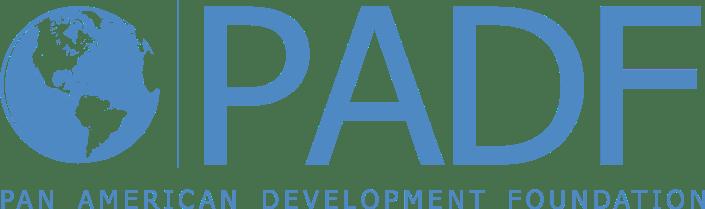 logo PADF en azul