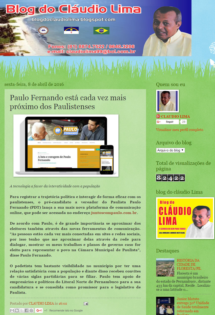 10-04-2016 Blog do Claudio Lima